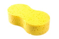 Sponge for car washing Stock Image