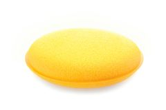 Sponge for car waxing Stock Image