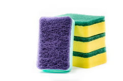 Sponge for cleaning and dishwashing Stock Photos