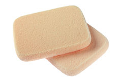 Sponge for cleaning face Stock Images