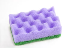 Sponge for cleaning. Royalty Free Stock Photography