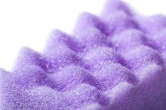 Sponge closeup. The foam structure. Stock Photo