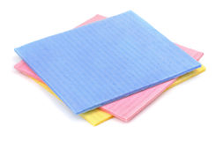 Sponge cloth royalty free stock photos
