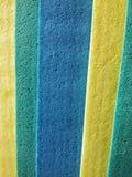 Sponge cloths. Close view of colorful sponge clothes Stock Images