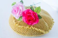 Sponge Cushion Rose Stock Image