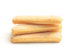 Sponge fingers Stock Images