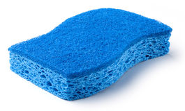Sponge. Isolated on a white background Royalty Free Stock Photography