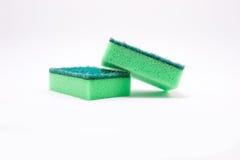 Sponge. Isolated on white background stock images