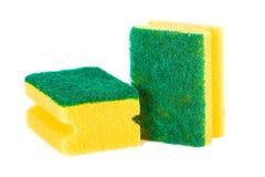 Sponge. Kitchen scouring sponge royalty free stock photography