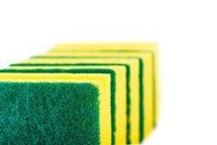 Sponge. Kitchen scouring sponge royalty free stock image