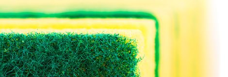 Sponge. Kitchen scouring sponge royalty free stock photos