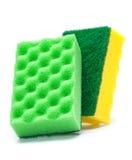 Sponge kitchen untesil Stock Images