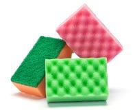 Sponge kitchen untesil Stock Photography