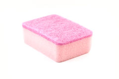 Sponge. Kitchen utensil of colorful sponge for washing dish royalty free stock images