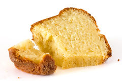 Sponge, madeira or pound cake Royalty Free Stock Photo