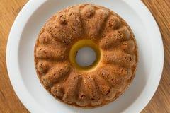 Sponge, madeira or pound cake Royalty Free Stock Images