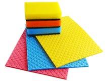 Sponge and napkins Stock Image