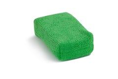 Sponge pad on white background. Close-up of sponge pad on white background Royalty Free Stock Photos