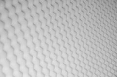 Sponge panel for sound acoustic absorption as background. royalty free stock images