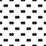 Sponge pattern, simple style. Sponge pattern. Simple illustration of sponge vector pattern for web stock illustration