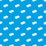 Sponge pattern vector seamless blue. Repeat for any use royalty free illustration