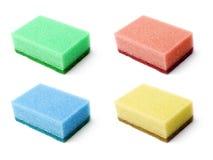 Sponge set. Royalty Free Stock Image
