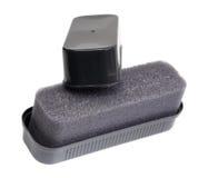 Sponge shoe polish Stock Photos