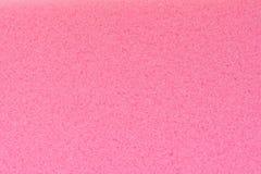 Sponge texture background. Pink color sponge texture background Stock Photography