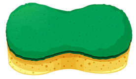 Sponge with two layers Royalty Free Stock Photography