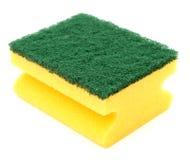 sponge utensilstvätt Arkivfoton