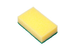 Sponge for wash Stock Image