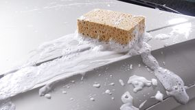 Sponge for washing cars