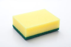 sponge for washing dishes Royalty Free Stock Photography