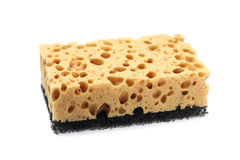 Sponge for washing dishes Royalty Free Stock Photos