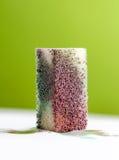 Sponge with watercolor paint. color concept Stock Image