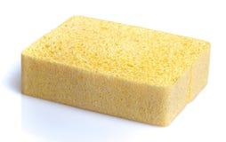Sponge. A sponge,  on white Stock Photos