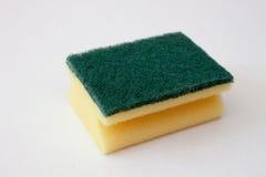 Sponge  on white Stock Image
