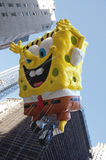 Spongebob flies in the New York Parade 2012 Stock Photos
