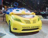 SpongeBob Toyota siena Royaltyfri Fotografi