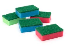 Sponges Royalty Free Stock Photos