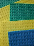 Sponges clothes pattern. Abstract view of colorful sponge clothes Stock Images