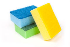 Sponges for dishes stock image