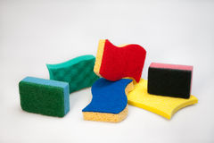 Sponges for dishes Stock Photography