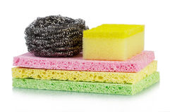 Sponges stack Stock Images