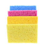 Sponges Super Absorbent Stacked Royalty Free Stock Photos