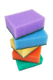 Sponges for washing dishes Royalty Free Stock Photography