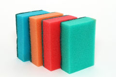 Sponges for washing dishes Stock Images