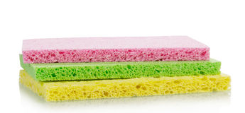 Sponges for washing dishes Stock Photography