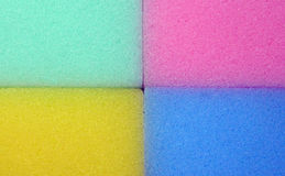 Spongy colorful texture Royalty Free Stock Photos