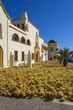 Sponsen die, Kalymnos-eiland drogen stock foto's